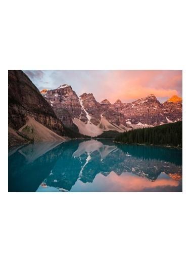 MarkaEv Canvas Gökyüzü Doğa Manzara Tablo 0171 Renkli